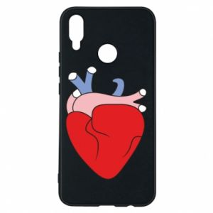 Phone case for Huawei P Smart Plus Heart with vessels