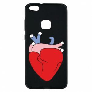 Phone case for Huawei P10 Lite Heart with vessels - PrintSalon
