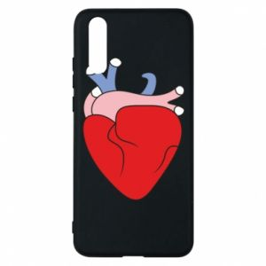 Phone case for Huawei P20 Heart with vessels
