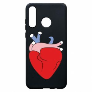 Phone case for Huawei P30 Lite Heart with vessels
