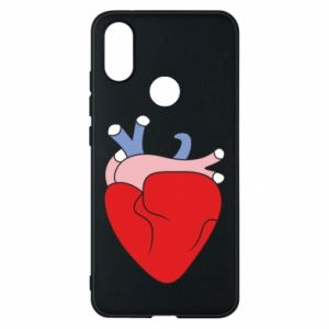 Phone case for Xiaomi Mi A2 Heart with vessels - PrintSalon