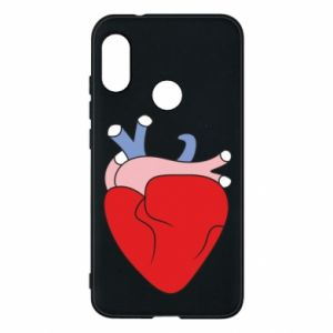 Phone case for Mi A2 Lite Heart with vessels