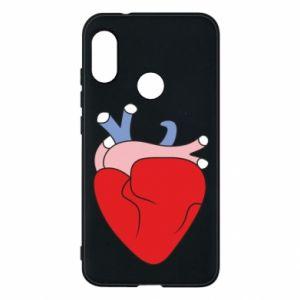 Phone case for Mi A2 Lite Heart with vessels - PrintSalon