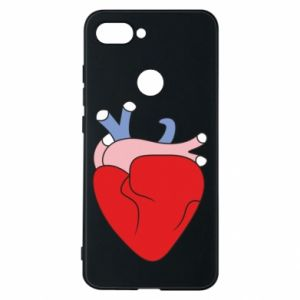 Phone case for Xiaomi Mi8 Lite Heart with vessels - PrintSalon