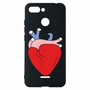 Phone case for Xiaomi Redmi 6 Heart with vessels - PrintSalon