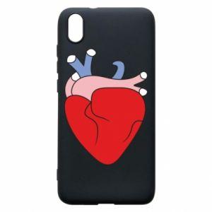 Phone case for Xiaomi Redmi 7A Heart with vessels - PrintSalon
