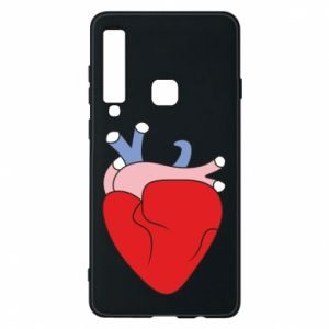 Phone case for Samsung A9 2018 Heart with vessels - PrintSalon