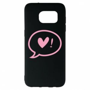 Etui na Samsung S7 EDGE Heart!