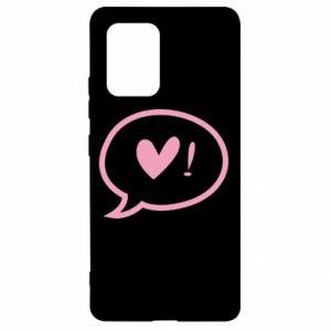 Etui na Samsung S10 Lite Heart!