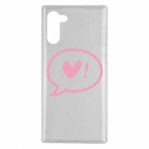 Etui na Samsung Note 10 Heart!