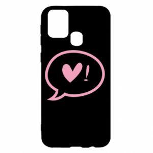 Etui na Samsung M31 Heart!