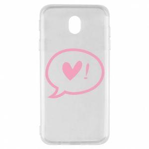 Etui na Samsung J7 2017 Heart!