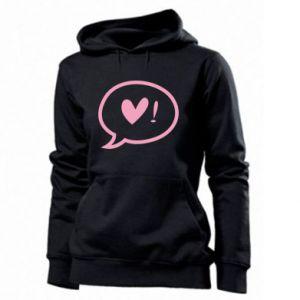 Women's hoodies Heart!
