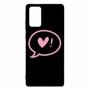 Etui na Samsung Note 20 Heart!
