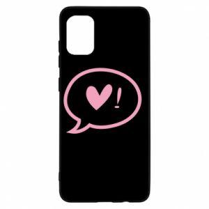 Etui na Samsung A31 Heart!
