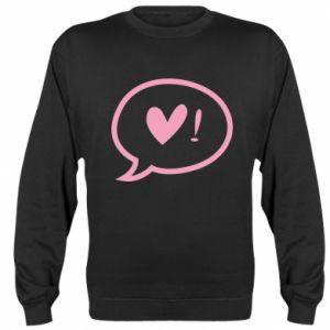 Sweatshirt Heart!
