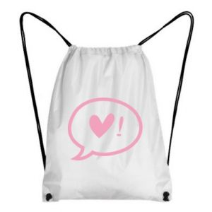 Backpack-bag Heart!