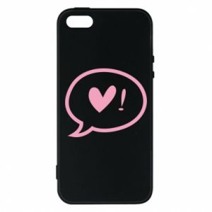 Etui na iPhone 5/5S/SE Heart!