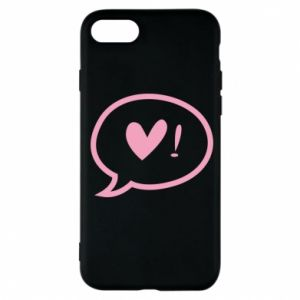 Etui na iPhone 7 Heart!
