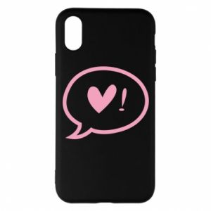 Etui na iPhone X/Xs Heart!