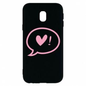Phone case for Samsung J3 2017 Heart!