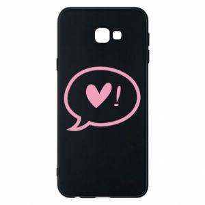 Phone case for Samsung J4 Plus 2018 Heart!