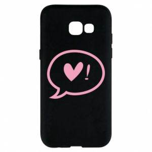 Phone case for Samsung A5 2017 Heart!