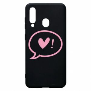 Phone case for Samsung A60 Heart!