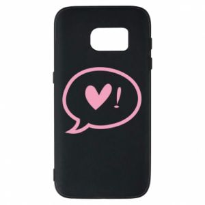 Phone case for Samsung S7 Heart!