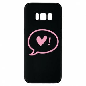 Phone case for Samsung S8 Heart!