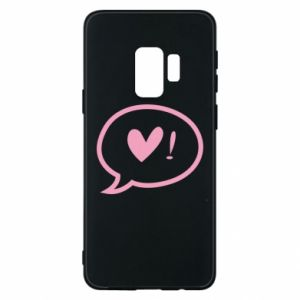 Phone case for Samsung S9 Heart!