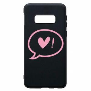Phone case for Samsung S10e Heart!