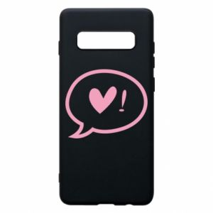 Phone case for Samsung S10+ Heart!