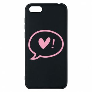 Phone case for Huawei Y5 2018 Heart!