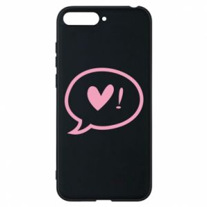 Phone case for Huawei Y6 2018 Heart!