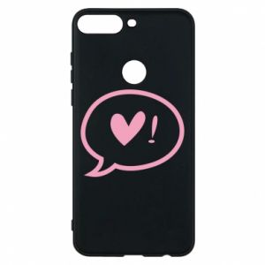 Phone case for Huawei Y7 Prime 2018 Heart!