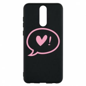 Phone case for Huawei Mate 10 Lite Heart!