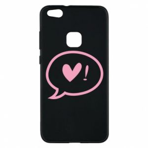 Phone case for Huawei P10 Lite Heart!