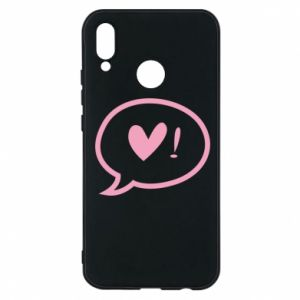 Phone case for Huawei P20 Lite Heart!