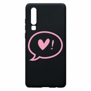 Phone case for Huawei P30 Heart!
