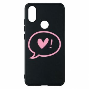 Phone case for Xiaomi Mi A2 Heart!