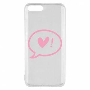Phone case for Xiaomi Mi6 Heart!