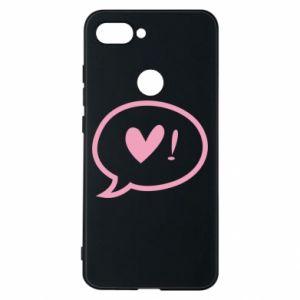 Phone case for Xiaomi Mi8 Lite Heart!