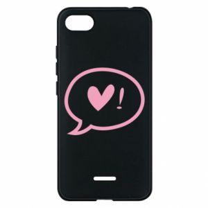 Phone case for Xiaomi Redmi 6A Heart!