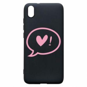 Phone case for Xiaomi Redmi 7A Heart!
