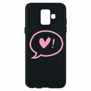 Phone case for Samsung A6 2018 Heart!