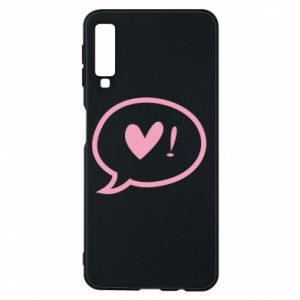 Phone case for Samsung A7 2018 Heart!