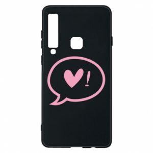 Phone case for Samsung A9 2018 Heart!
