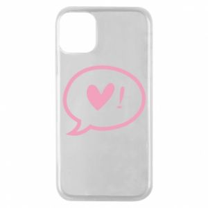 Etui na iPhone 11 Pro Heart!