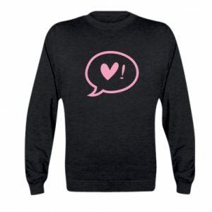 Bluza dziecięca Heart!